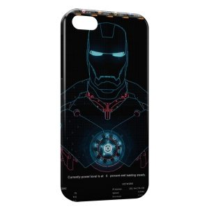 Coque iPhone 5C Iron Man Robot