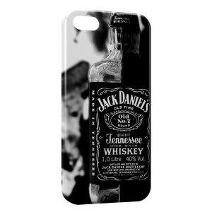 Coque iPhone 5C Jack Daniels Black 2