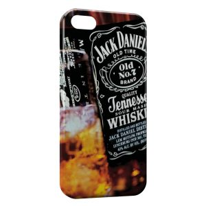 Coque iPhone 5C Jack Daniel's Black Design