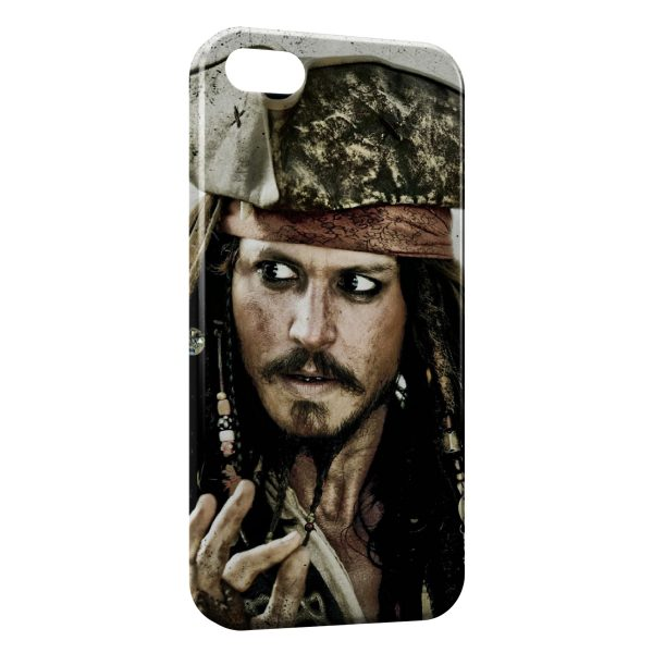 Coque iPhone 5C Jack Sparrow