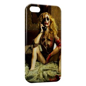 Coque iPhone 5C Joker Girl