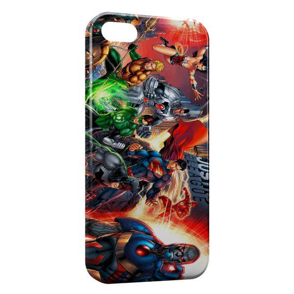 Coque iPhone 5C Justice League