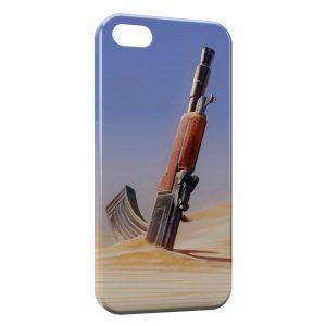 Coque iPhone 5C Kalachnikov AK47