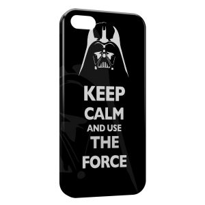 Coque iPhone 5C Keep Calm Star Wars Dark Vador 2