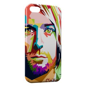 Coque iPhone 5C Kurt Cobain Pop Art