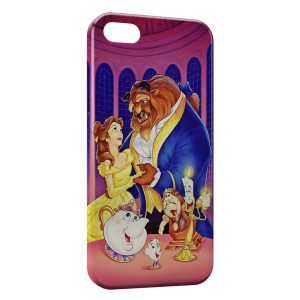 Coque iPhone 5C La Belle et La Bete 3