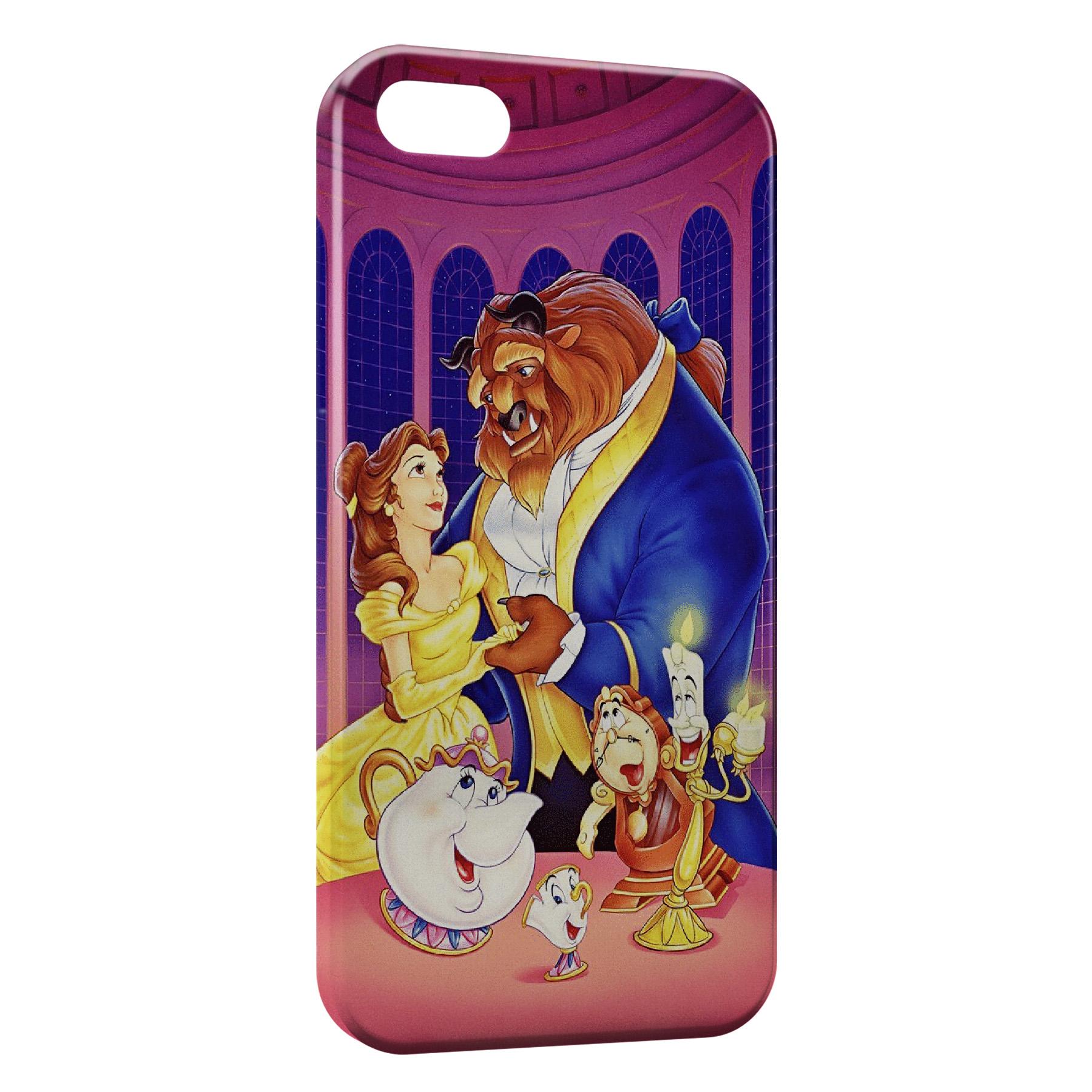 Coque iPhone 5C La Belle et La Bete 3