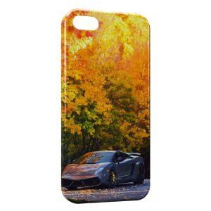 Coque iPhone 5C Lamborghini Automne