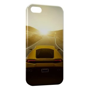 Coque iPhone 5C Lamborghini rear Voiture