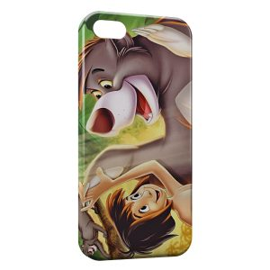 Coque iPhone 5C Le livre de la jungle Baloo Mowgli