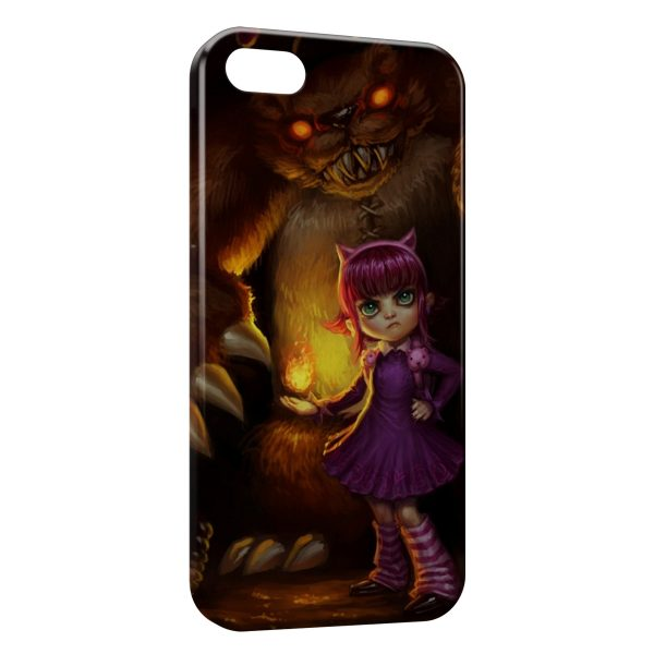 Coque iPhone 5C League Of Legends Annie 1