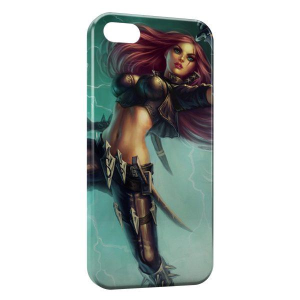 Coque iPhone 5C League Of Legends Katarina 2