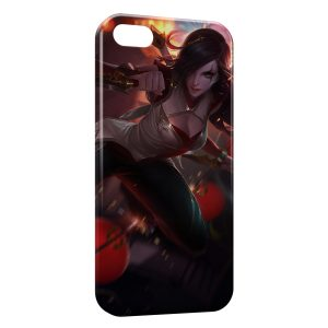 Coque iPhone 5C League Of Legends Katarina 3