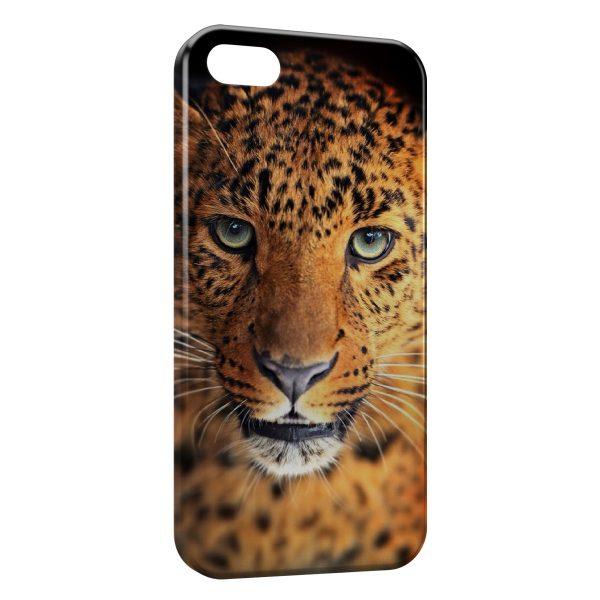 Coque iPhone 5C Leopard