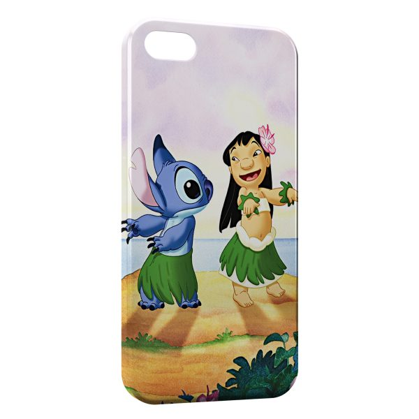 Coque iPhone 5C Lilo Stitch 3 600x600
