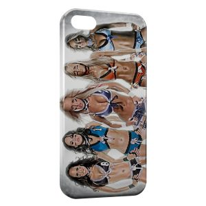 Coque iPhone 5C Lingerie Football League sexy girls 3
