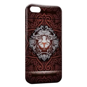 Coque iPhone 5C Lion King Design