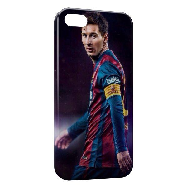 Coque iPhone 5C Lionel Messi Football