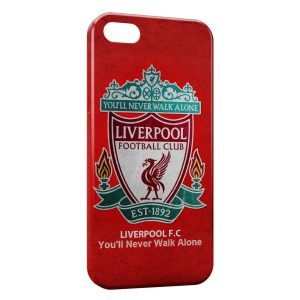Coque iPhone 5C Liverpool FC Football 5