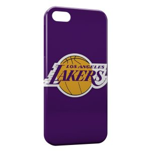 Coque iPhone 5C Los Angeles Lakers Basketball