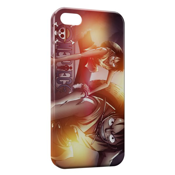 Coque iPhone 5C Luffy - One Piece