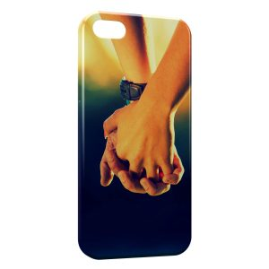 Coque iPhone 5C Main dans la Main