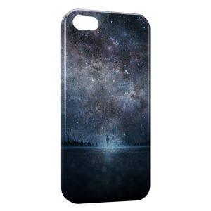 Coque iPhone 5C Marche entre Ciel & Mer