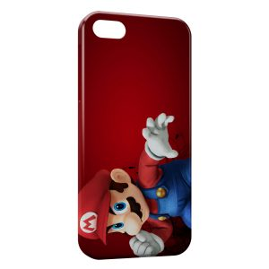 Coque iPhone 5C Mario