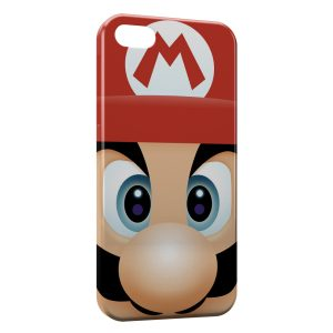 Coque iPhone 5C Mario Tete