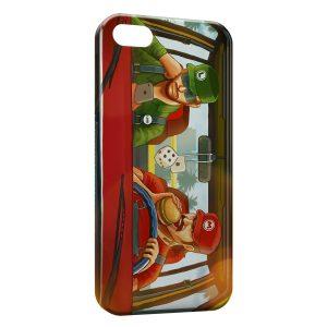 Coque iPhone 5C Mario et Luigi Modernes