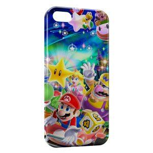 Coque iPhone 5C Mario et ses amis