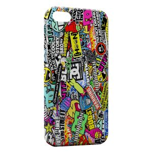 Coque iPhone 5C Marques Skate