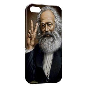 Coque iPhone 5C Marx Peace