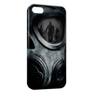 Coque iPhone 5C Masque a Gaz