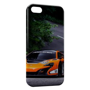 Coque iPhone 5C McLaren 650S GT3 Voiture