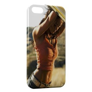 Coque iPhone 5C Megan Fox 4