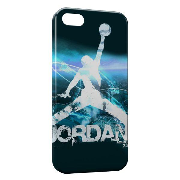 Coque iPhone 5C Michael Jordan Basket Graphic Logo 600x600