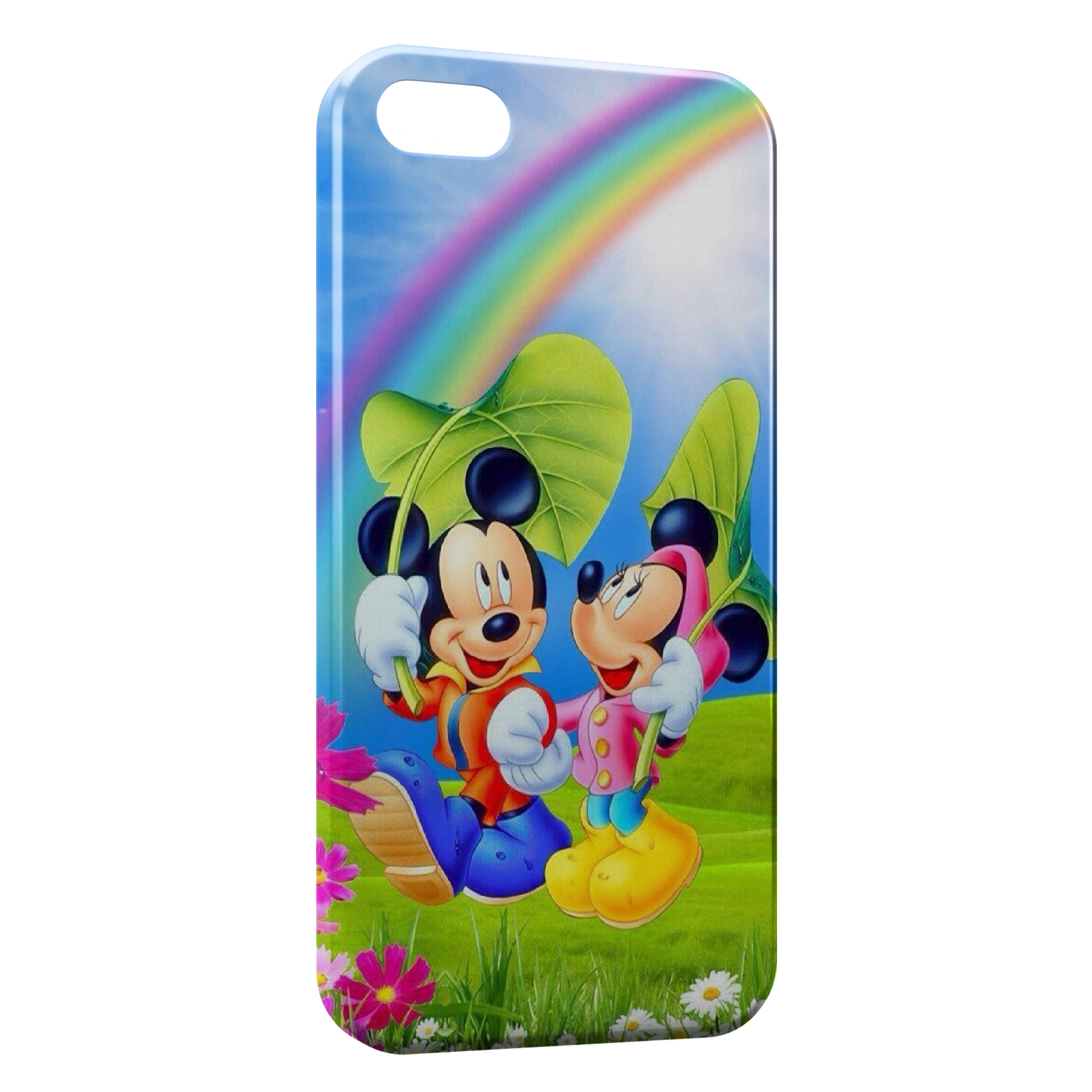 Coque iPhone 5C Mickey Minnie 2