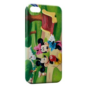 Coque iPhone 5C Mickey & Minnie Flirt