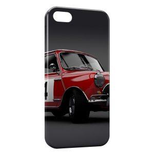 Coque iPhone 5C Mini Cooper Rouge