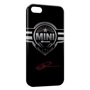Coque iPhone 5C Mini Cooper Voiture Logo