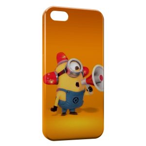Coque iPhone 5C Minion Megaphone