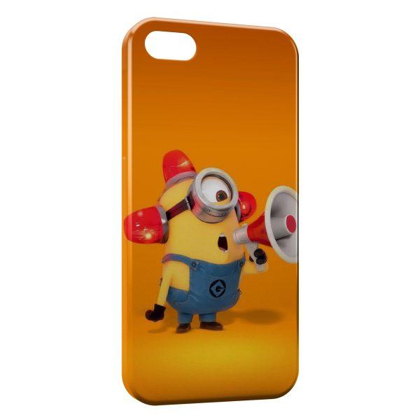Coque iPhone 5C Minion Megaphone