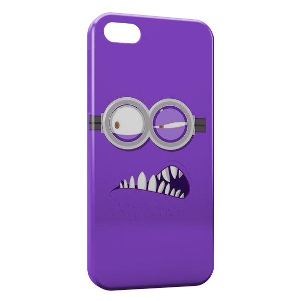 Coque iPhone 5C Minion Violet 32
