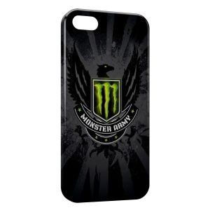Coque iPhone 5C Monster Energy Black Army