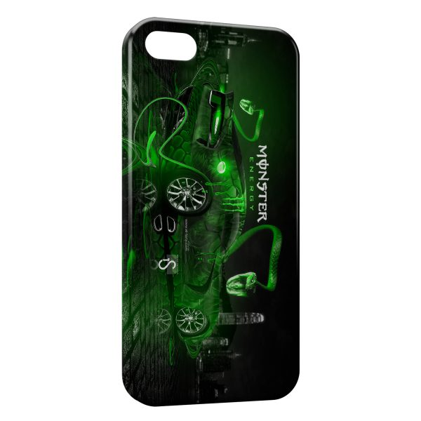 Coque iPhone 5C Monster Energy F1