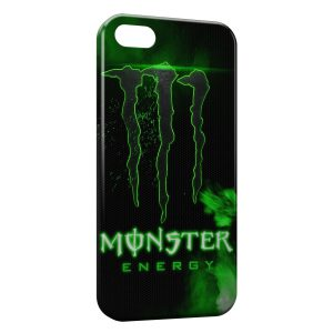 Coque iPhone 5C Monster Energy Green Style Design