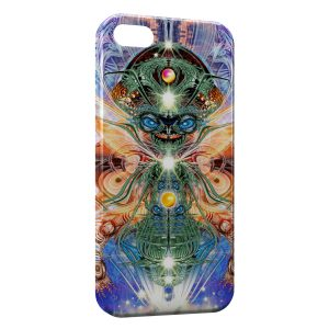 Coque iPhone 5C Monster Graphic Gold Alien