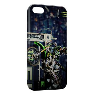 Coque iPhone 5C Monster Moto