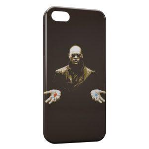 Coque iPhone 5C Morpheus Matrix Pilule